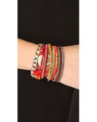 Hipanema | Red Blarritz Bracelet | Lyst