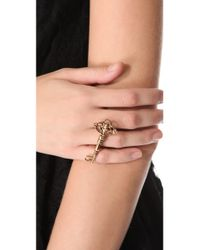House of Harlow 1960   Metallic Key Cocktail Ring   Lyst