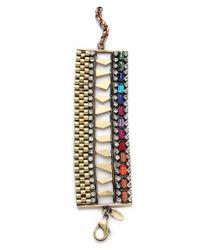 Iosselliani - Multicolor Multi Stone Watch Link Bracelet - Lyst