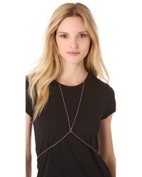 Jacquie Aiche | Pink Vintage Body Chain | Lyst