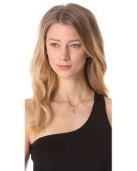 Jamie Wolf - Metallic Black Diamond Marquis Necklace - Lyst