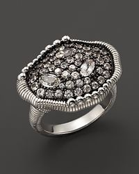 Judith Ripka | Mercury Ring with White Sapphires | Lyst