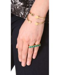 Kelly Wearstler | Green Cabochon Band Ring | Lyst