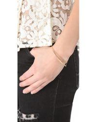 Kristen Elspeth - Metallic Layered Arc Bracelet - Lyst