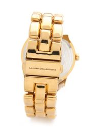 La Mer Collections | Metallic Oversized Tuscany Link Watch | Lyst