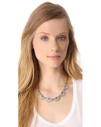 Lulu Frost - Blue Sunburst Collar Necklace - Lyst