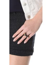 Marc By Marc Jacobs - Black Exploded Bow Bownanza Ring - Lyst