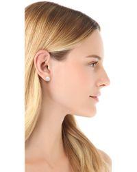 Marc By Marc Jacobs - Metallic Bolt Stud Earrings - Lyst