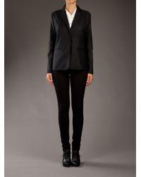 MM6 by Maison Martin Margiela - Black Shirt-jacket - Lyst