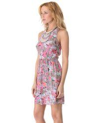 Rebecca Taylor - Pink Tropical Demi Femme Dress - Lyst