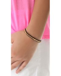 Shashi - Metallic New Nugget Bracelet - Lyst