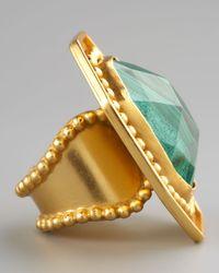 Stephanie Kantis - Green Malachite Ring - Lyst
