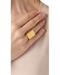 Tom Binns - Metallic Classic Ring - Lyst