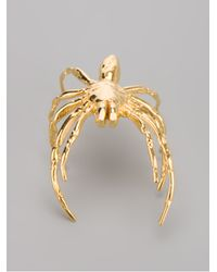 Tom Binns - Metallic Spider Bracelet - Lyst