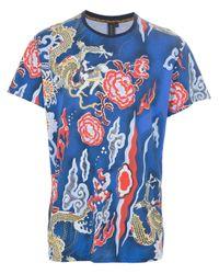 Uppercut - Blue Dragon Tshirt for Men - Lyst