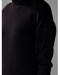 Vanessa Bruno | Black Roll Neck Sweater | Lyst