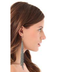 Vanessa Mooney - Metallic Dreams Of Distant Places Earrings - Lyst