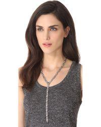 Vanessa Mooney - Metallic The Stars Of Crystal Necklace - Lyst