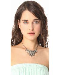 Vanessa Mooney - Metallic Vanguard Necklace - Lyst