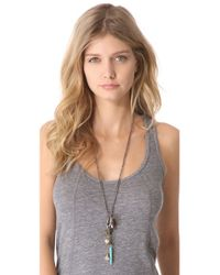Vanessa Mooney - White The Earth Necklace - Lyst