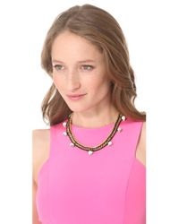 Venessa Arizaga - Black Fools Gold Necklace - Lyst