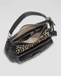 Cole Haan | Animal Zoe Leopardprint Calf Hair Hobo Bag | Lyst