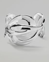 Ippolita | Metallic Scultura Interlocking Cuff Large | Lyst