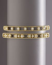 Penny Preville | Yellow Diamond Station Bangle | Lyst