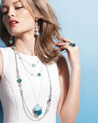 Ippolita - Blue Malibu Doublet Ring - Lyst