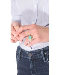 A Peace Treaty - Metallic Badra Amazonite Ring - Lyst