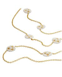 Miguel Ases | White Beaded Necklace | Lyst