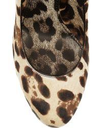 Dolce & Gabbana | Animal Leopardprint Calf Hair Pumps | Lyst