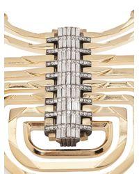 Lanvin | Metallic Dedale Pendant Necklace | Lyst