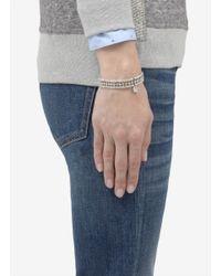 Philippe Audibert | White Rhinestone Set Bracelet | Lyst