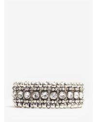 Philippe Audibert | Metallic Roselyne Crystal-and-bead Bracelet | Lyst