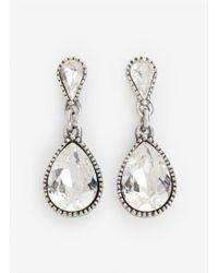 Philippe Audibert - Metallic Tear-drop Stone Earrings - Lyst