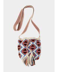Toast | Red Wayuu Small Bag | Lyst