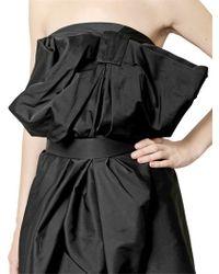 Viktor & Rolf - Black Double Taffeta Bow Dress - Lyst