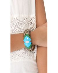 Lulu Frost - Green Equality Bangle - Lyst