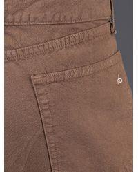 Rag & Bone Brown Rb15x Five Pocket Trouser for men