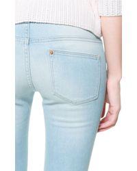 Zara | Blue Combination Jeans | Lyst