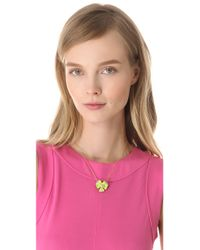 Alexis Bittar - Metallic Ophelia Pansy Necklace - Lyst