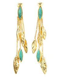Aurelie Bidermann | Malibu Blue Long Earrings | Lyst
