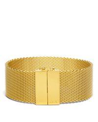 COACH | Metallic Mesh Bracelet | Lyst