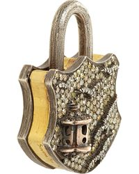 Sevan Biçakci - Yellow Diamond Large Birdhouse Padlock - Lyst