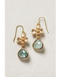 Anthropologie - Blue Dittany Drop Earrings - Lyst