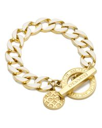 COACH - Metallic Toggle Chain Bracelet - Lyst