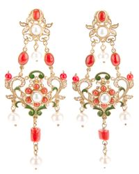 Percossi Papi | Metallic Chandelier Earrings | Lyst