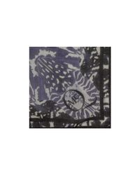 McQ - Blue Kaleidoscope Beetle Print Scarf - Lyst