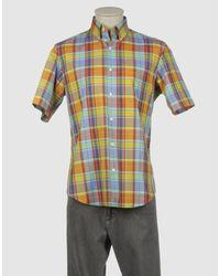 Arrow - Orange Short Sleeve Shirt for Men - Lyst